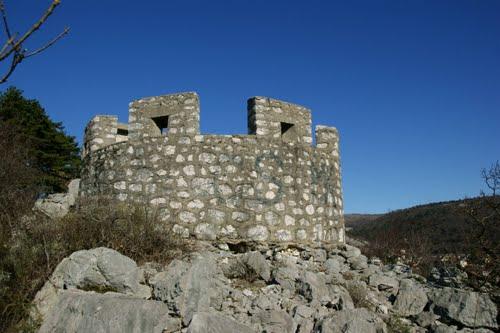 Alpenmuur - Observatiepost Rijeka