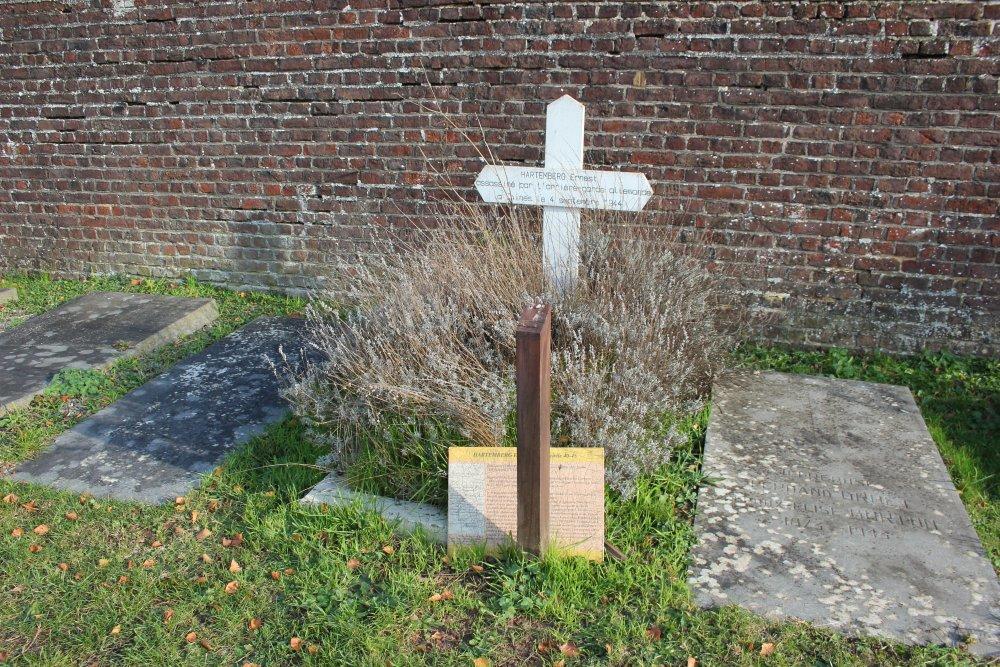 Graf Burgerslachtoffer Tweede Wereldoorlog Thines