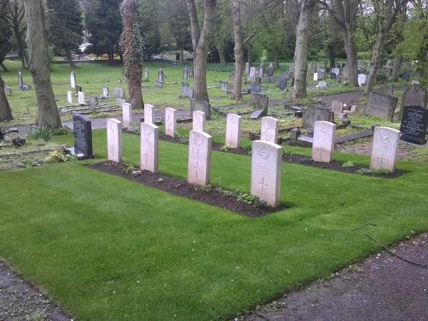 Commonwealth War Graves Ashbourne Cemetery
