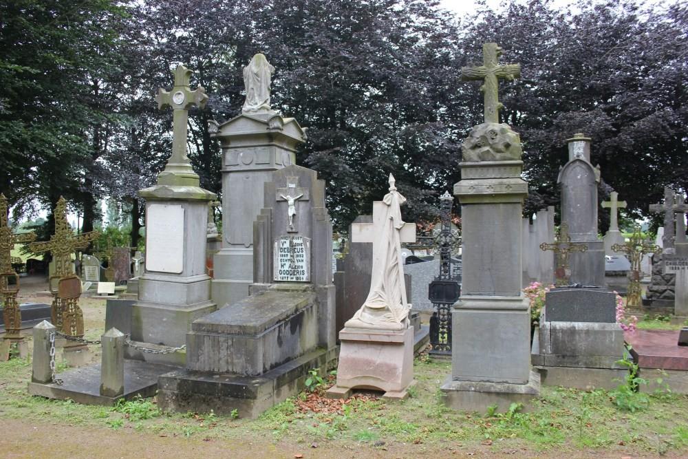 Grave Captain Camille Wenis Gijverinkhove