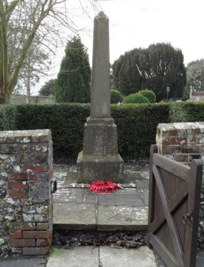 War Memorial Slindon