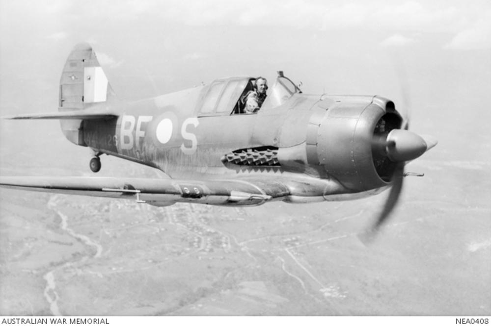 Crash Site CA-19 Boomerang A46-93