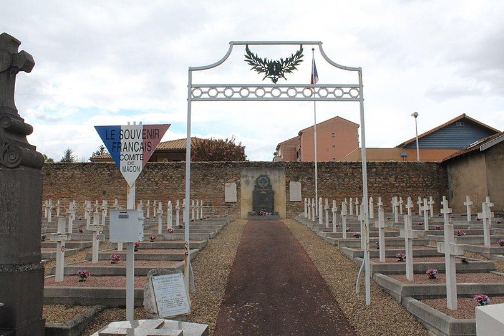 Franse Oorlogsgraven Cimetière Saint-Brice
