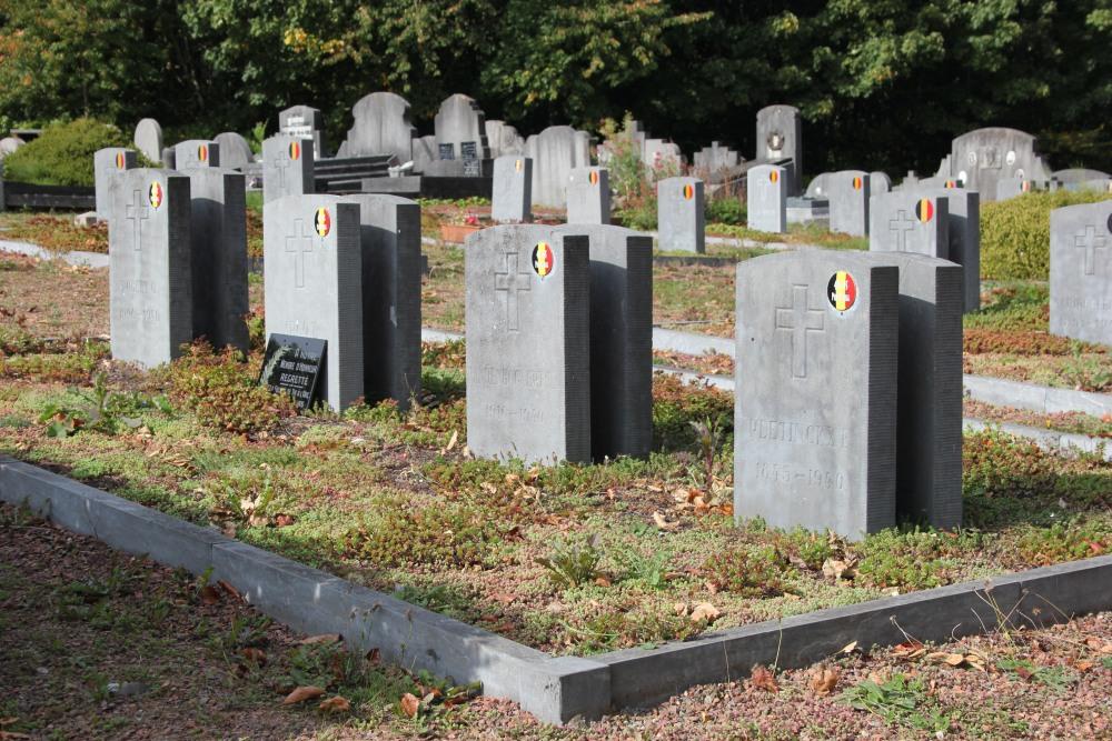 Belgische Oorlogsgraven Ohain