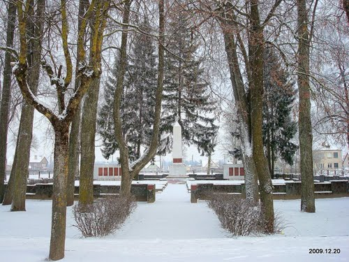 Sovjet Oorlogsbegraafplaats Sirvintos