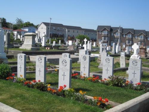 Commonwealth War Graves Belvedere Roman Catholic Cemetery