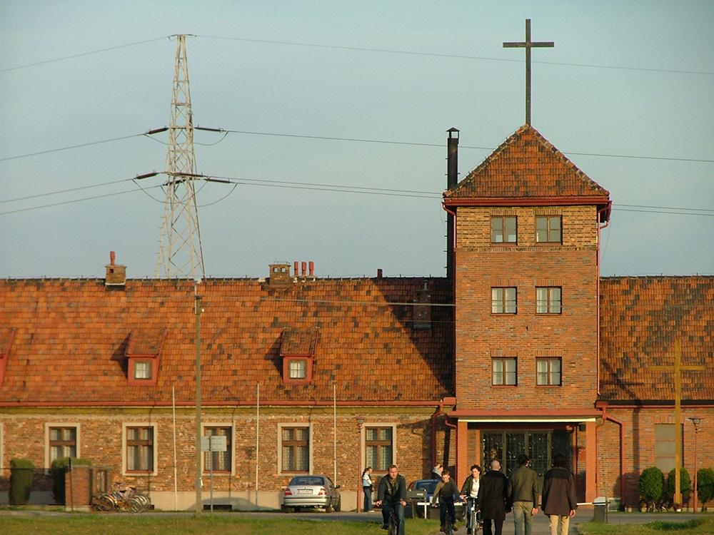 Voormalige Stafgebouw Auschwitz II