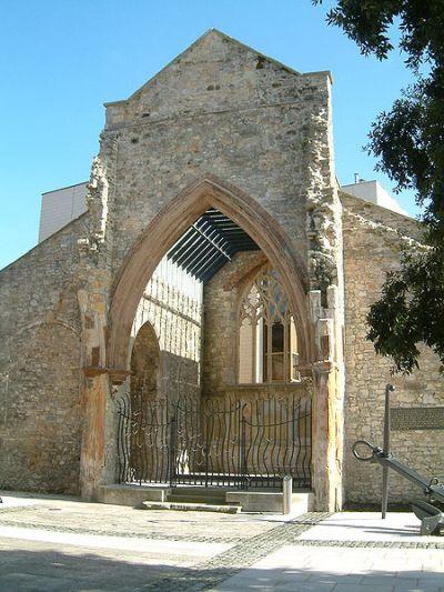 Monument Holyrood Kerk