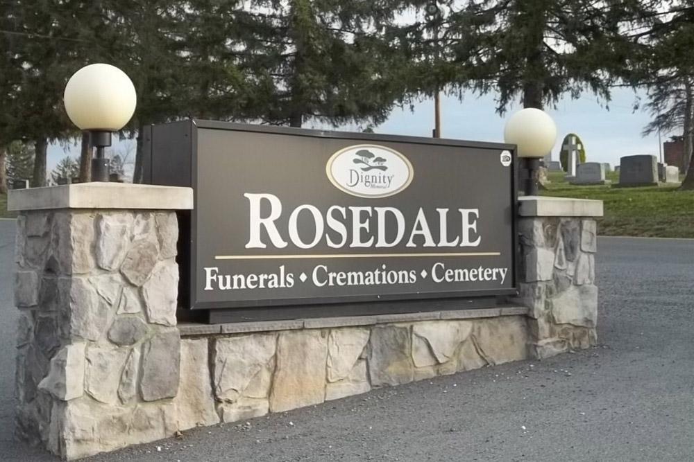 Amerikaanse Oorlogsgraven Rosedale Cemetery