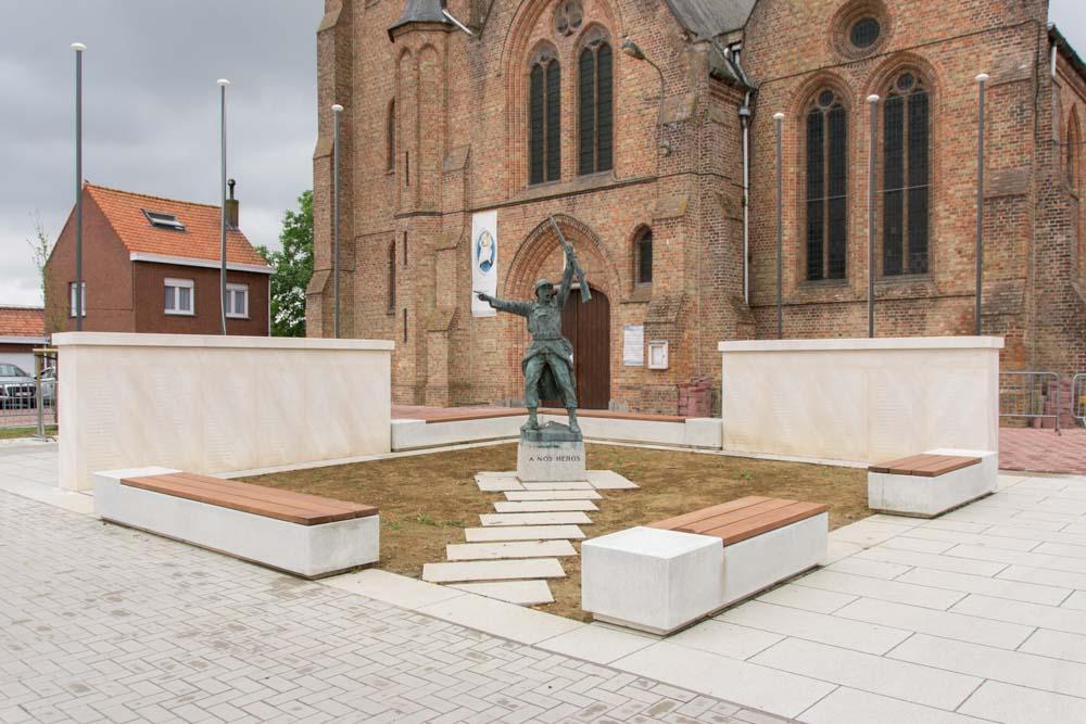 War memorial Ploegsteert