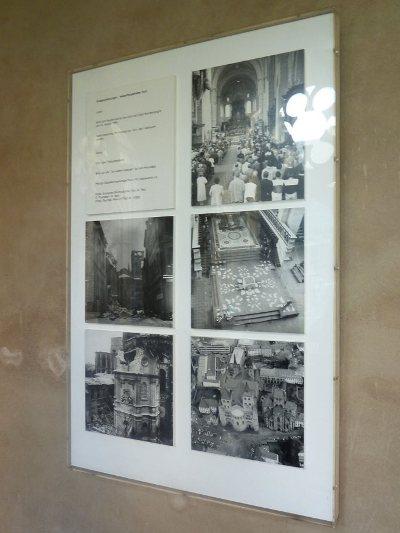 Pictures Destruction Trier Cathedral