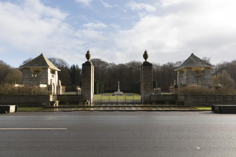 Oorlogsbegraafplaats van het Gemenebest Reichswald Forest