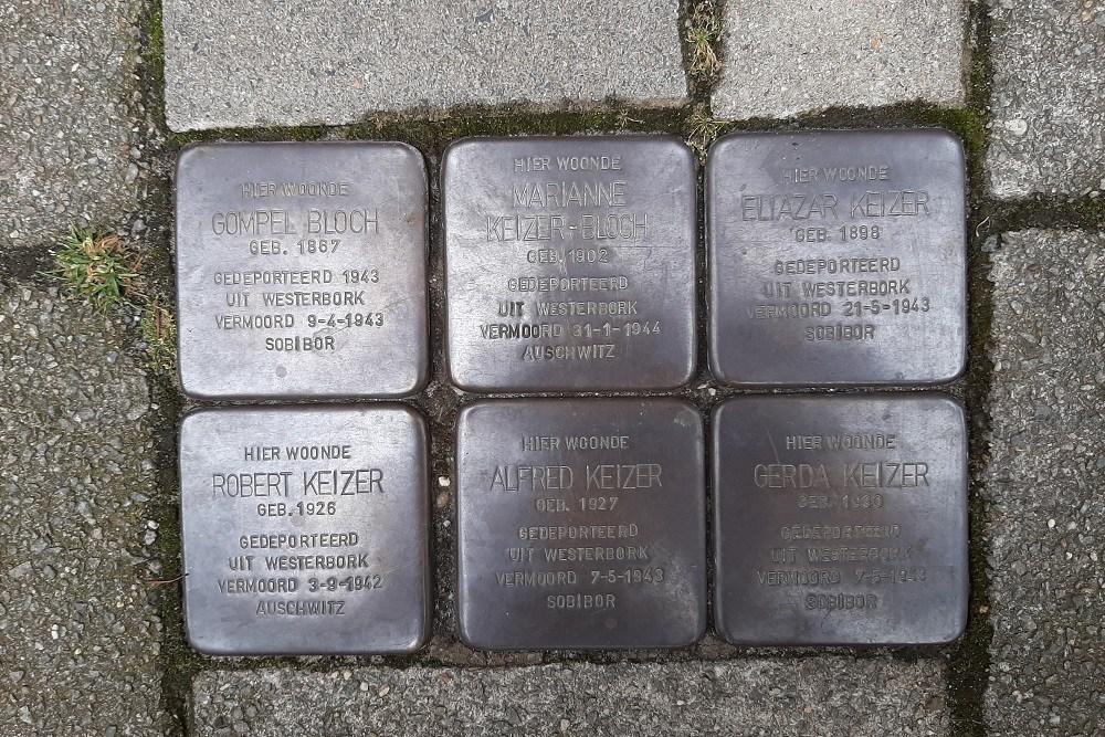 Stumbling Stones Den Texstraat 25