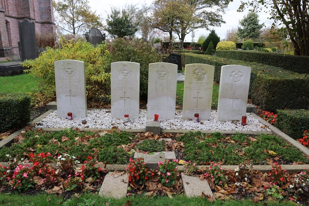 Commonwealth War Graves Municipal Cemetery Spanbroek