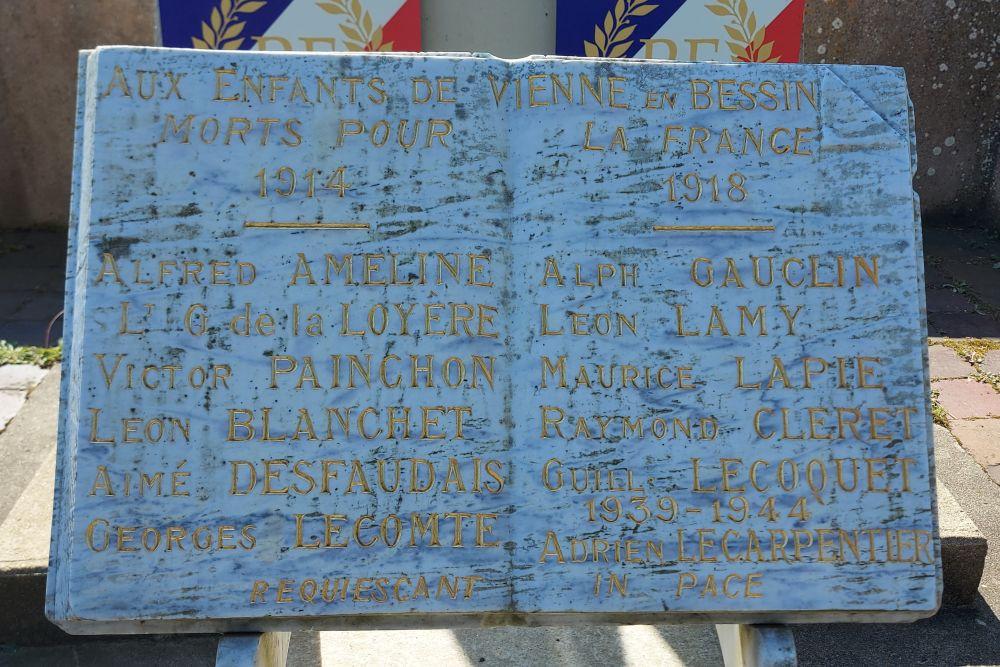 Oorlogsmonument Vienne-en-Bessin