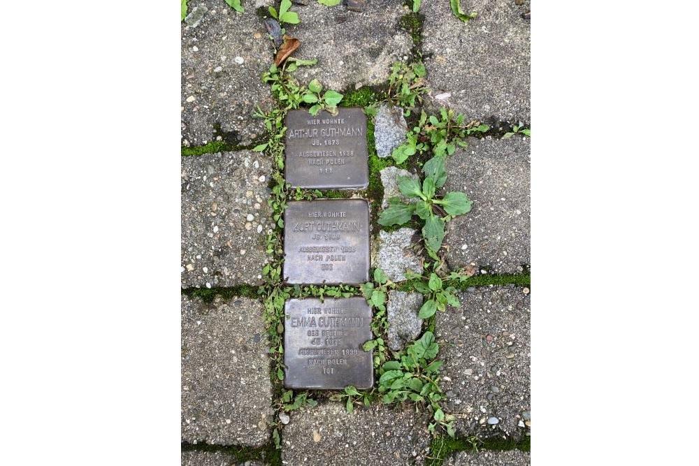 Stumbling Stones Tuchrahmtreppchen 1