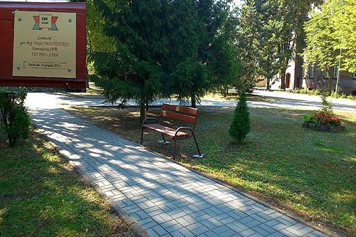 Memorial Bench Jozef Smolenski