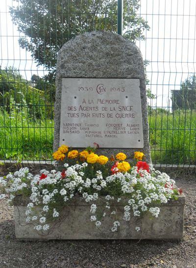Monument Omgekomen Geheime Agenten SNCF