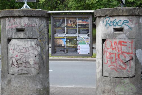 Eenpersoonsbunkers Brunnenstraße