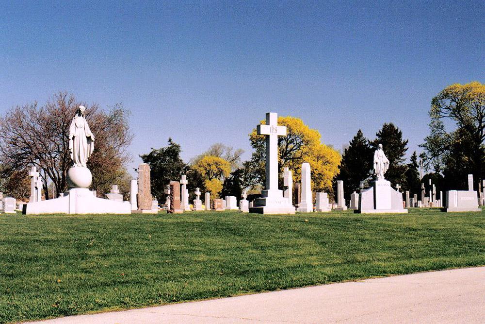 Amerikaanse Oorlogsgraven Holy Sepulchre Cemetery