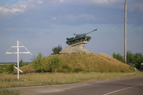 Monument Bevrijders (IS-3 Zware Tank)