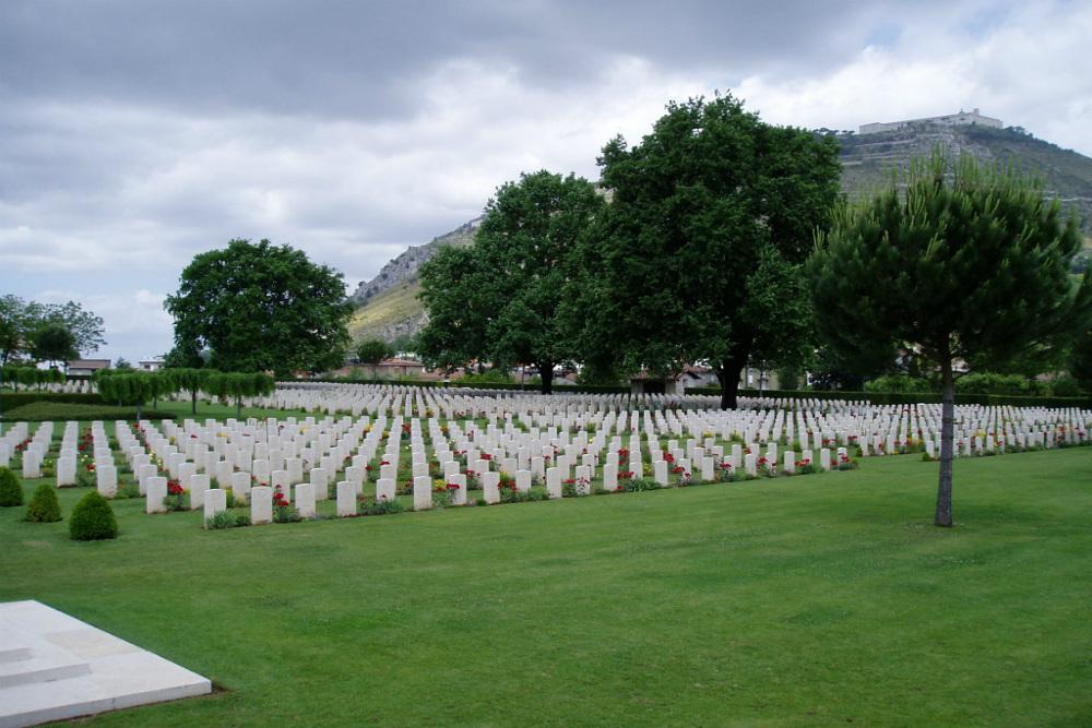 Commonwealth War Cemetery Cassino
