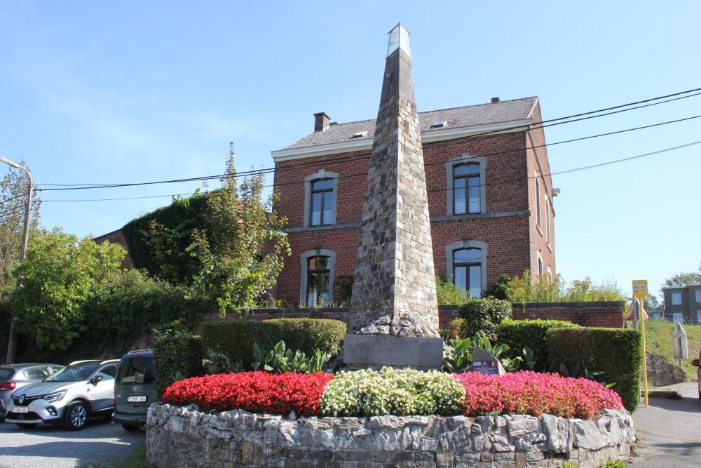 Memorial Second World War Comblain-la-Tour