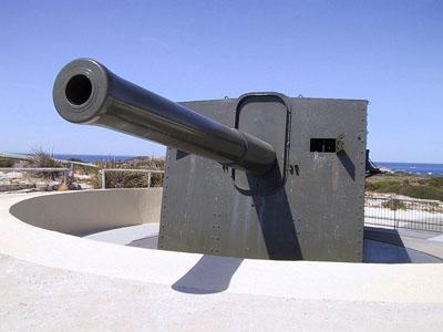 Fremantle Coastal Defence Oliver Hill Battery