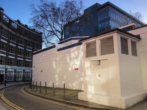 Google Hoofdkwartier Londen : Ondergrondse schuilbunker goodge street east london tracesofwar.nl