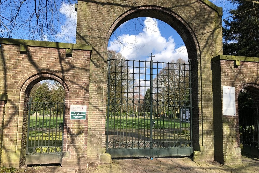 Dutch War Graves Roman Catholic Cemetery Enschede