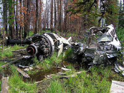 Crash Site & Remains B-23 Dragon 39-52