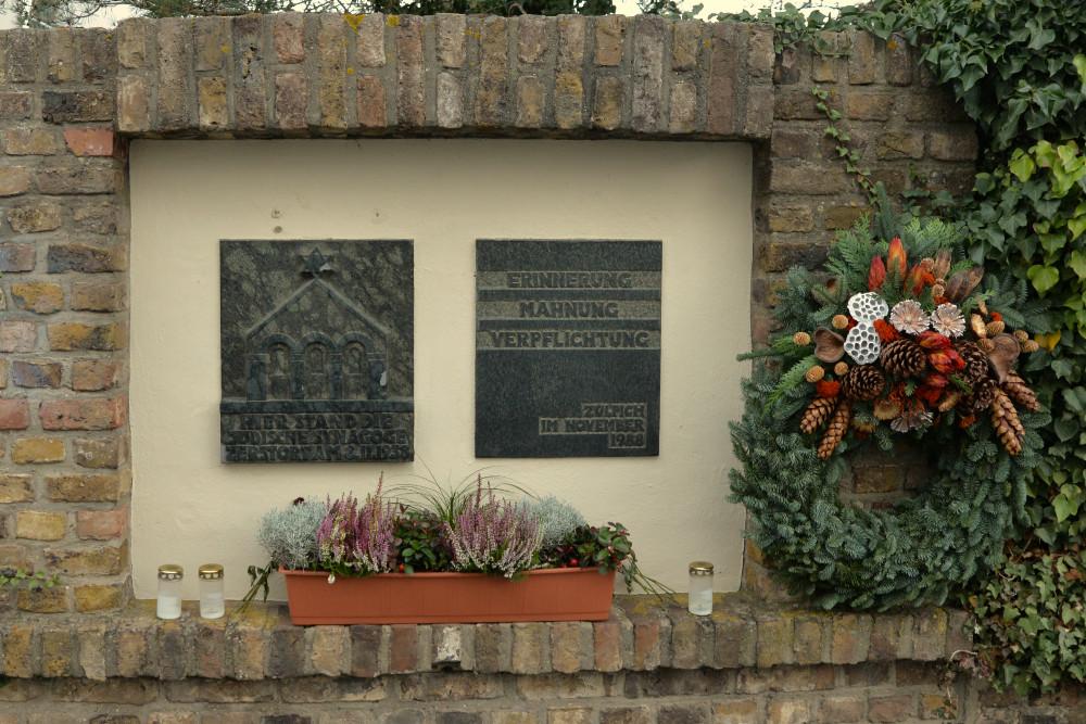 Monument Synagogue Zülpich