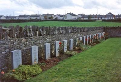 Oorlogsgraven van het Gemenebest Church of Ireland Churchyard Tamlaght Finlagan