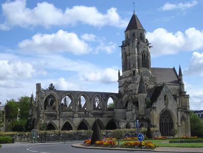 Abbaye-aux-Hommes - Église du Vieux Saint-Étienne