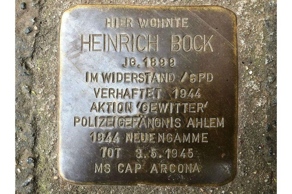 Stumbling Stone Berckhusenstraße 32