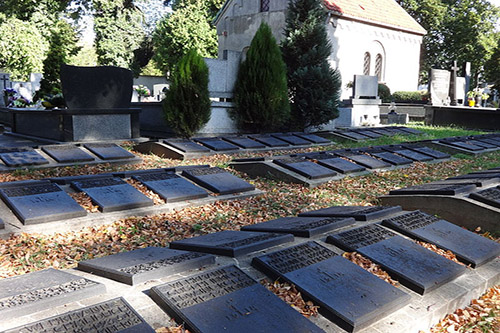 German & Austro-Hungarian War Graves Evangelic Cemetery