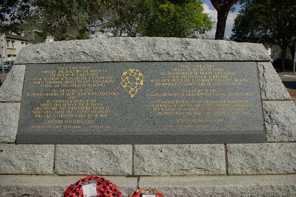Monument HMT Lancastria