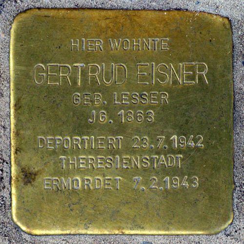 Stumbling Stones Klingelhöferstraße 18