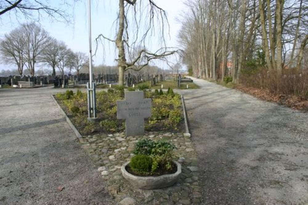 Monument Luite Middendorp
