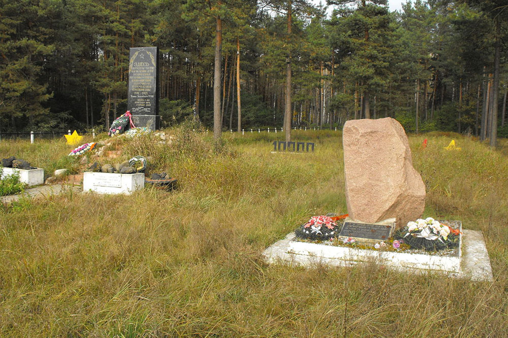 Mass Grave Holocaust Victims Slobodka