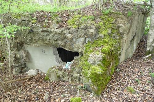Gesloopte Bunker Verlautenheidener Straße