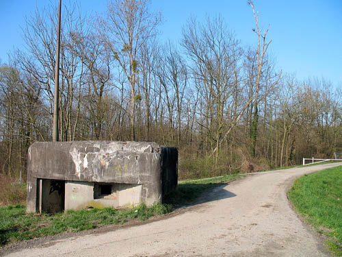 Maginot Line - Casemate Digue de La Wantzenau (1)