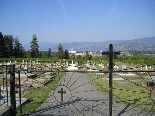 Commonwealth War Grave Kelowna Catholic Cemetery