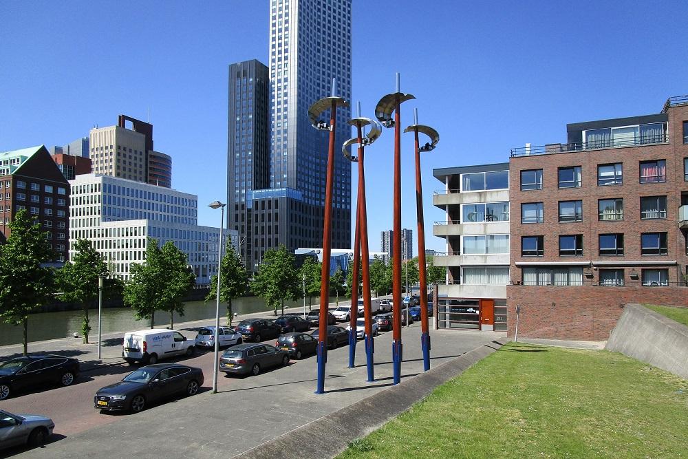 Jewish Memorial Plein Loods 24 Rotterdam