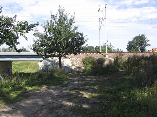 Festung Breslau - Duitse Mitrailleursnest Żernicki Brug