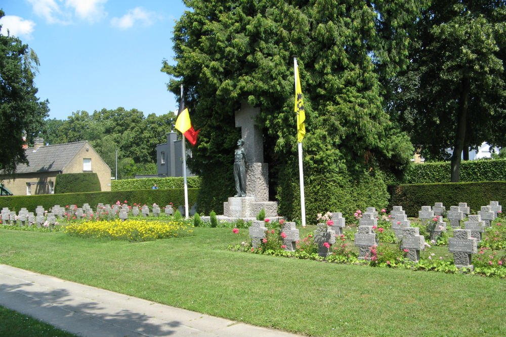Graves Political Prisoners and Deportees Municipal Cemetery Brugge