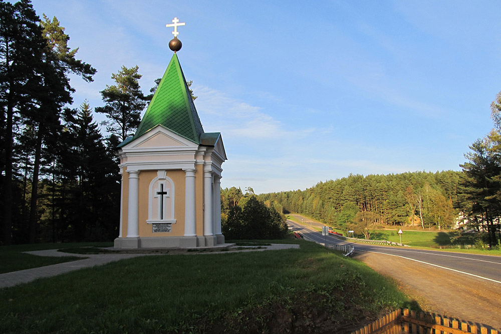Grafkapel 1812 Saltanaŭka