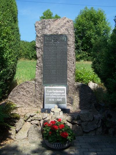 Oorlogsmonument Kittelsthal