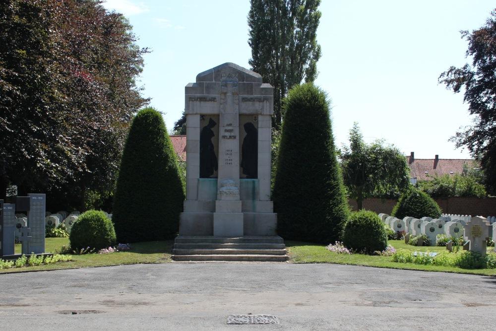 Oorlogsmonument Begraafplaats Roeselare