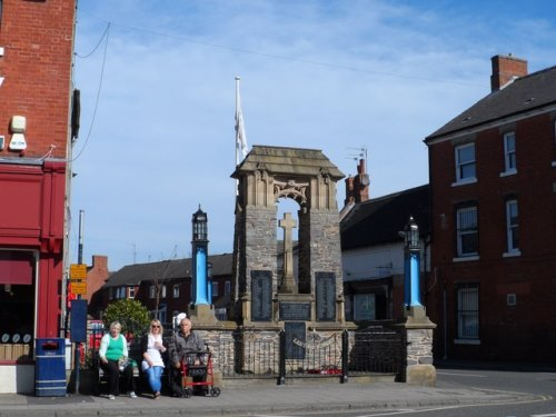 War Memorial Ashby-de-la-Zouch